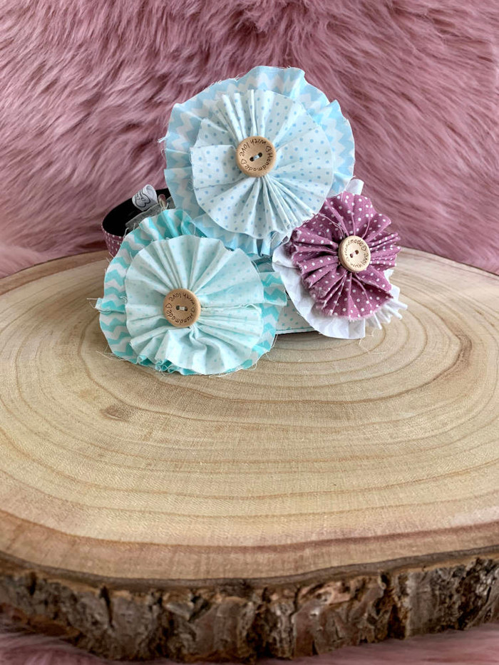 Shabby Chic Flower Collars