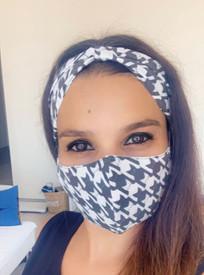 Natural Cotton Face Cover