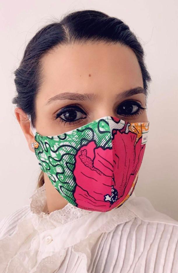 Ankara Face Cover