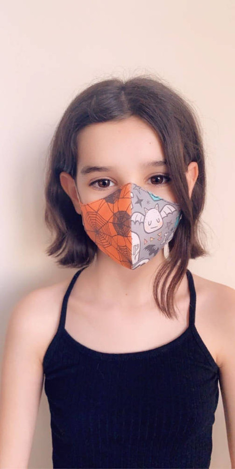 Let's be Spooktacular 2-in-1 Face Mask