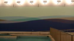 Bancroft School Pool Mural