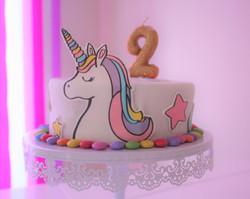 Gâteau licorne ©Les ContempoReines