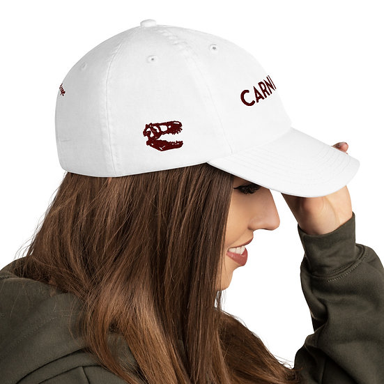 Carnivore T-Rex Dinosaur Meat Eater Champion Dad Cap