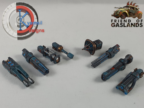 Weapons Set 4 - Energy Weapons (x8)