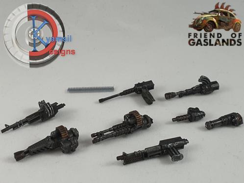 Weapons Set 1 - Machineguns (x8)
