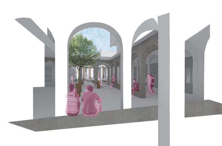 Cloister Perspective