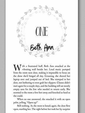 The Final Chance custom chapter header
