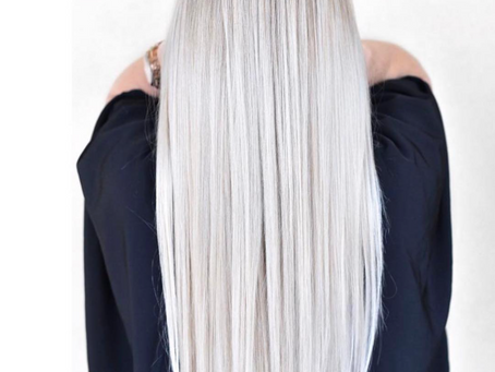 Going platinum with Olaplex at Stella