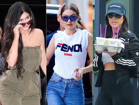 Move Over Tiny Sunglasses! Sporty Shades Are the Newest Celebrity Obsession