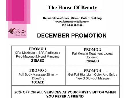 December Promotions!
