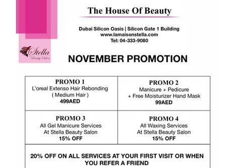 November Is Stella's Ladies Month