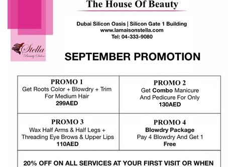 Enjoy September Promotion