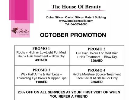Enjoy October Promotion