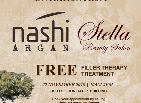 FREE Nashi Filler Therapy Treatment
