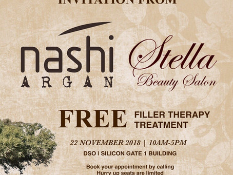 FREE Nashi Filler Therapy Treatment