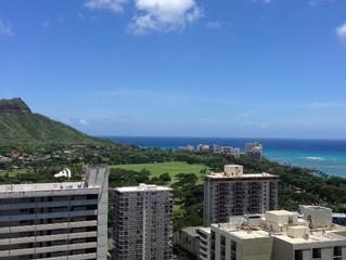 ハワイのバカンススタート!