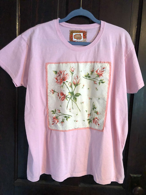 Smell the Roses - Hankie Tee