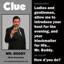 Mr. Boddy