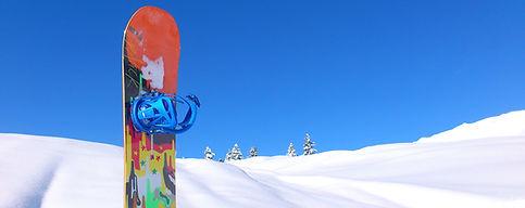 Snowboard sulla neve