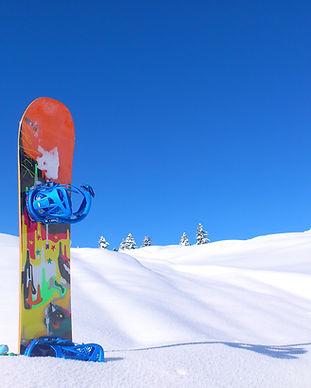 Snowboard on Snow Mt Buller