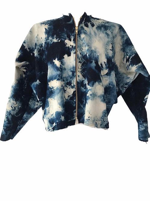 DC1 splodge denim jacket