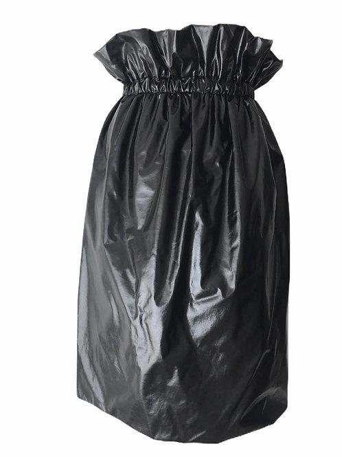 Faux dustbinliner skirt