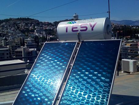 Ηλιακός Tesy TSS EU 200 Double, μέσω «Εξοικονομώ Κατ' Οίκον», στους Αμπελόκηπους