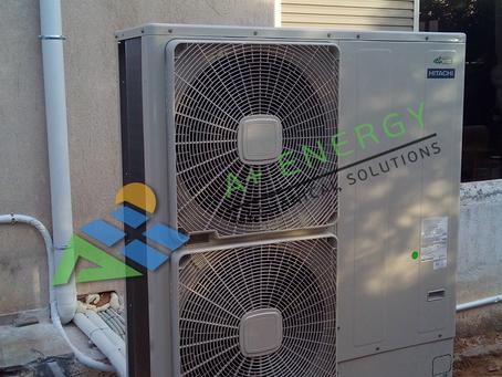 Ολοκληρωμένο έργο ψύξης, θέρμανσης και παραγωγής ζεστών νερών χρήσης, στην Αρτέμιδα.