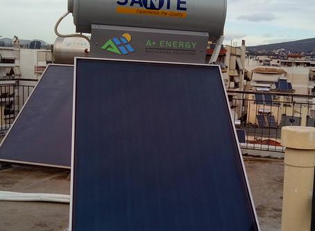 Ηλιακός Sante SP III 160/2.5, στο Χαλάνδρι