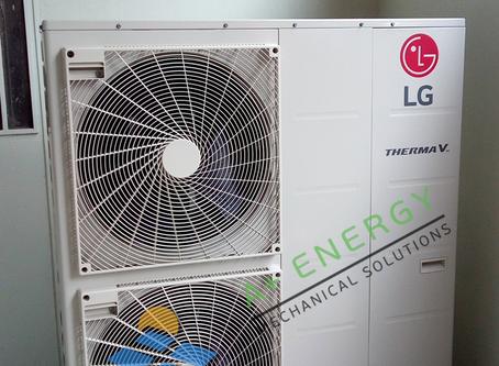 Εγκατάσταση Αντλίας Θερμότητας LG Therma-V Monoblock 16kW, μέσω «Εξοικονομώ Κατ' Οίκον», στo Χαϊδάρι
