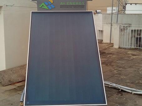 Ηλιακός Sante SP II 160/2.5, μέσω «Εξοικονομώ Κατ' Οίκον», στην Άνω Κυψέλη