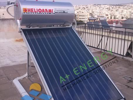 Ηλιακός Helioakmi Megasun 160 στον Περισσό