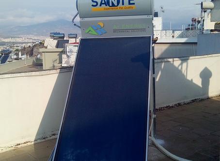 Ηλιακός Sante SP II 120/2.0, στην Άνω Κυψέλη