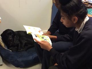 Reading to Leo