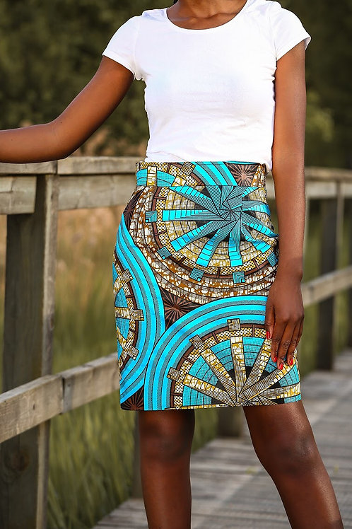 Prim pencil skirt