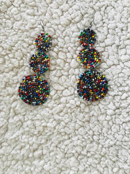 Mviringo earrings
