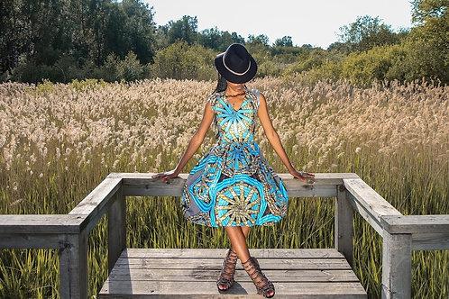 Stylish skater dress