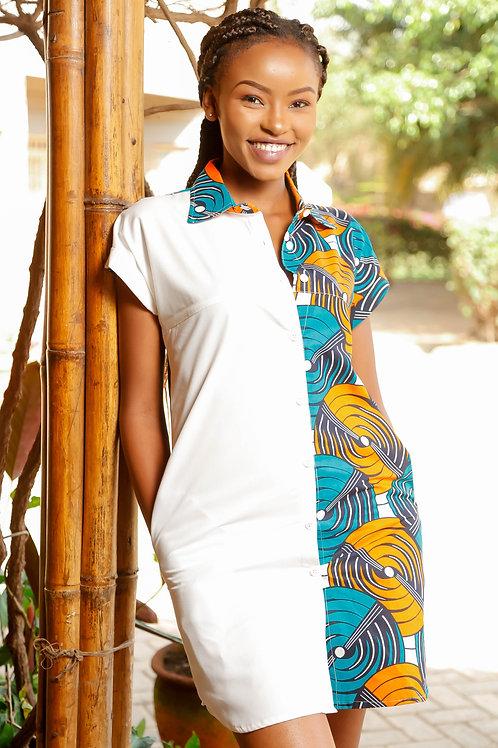 Nzuripia Shirt Dress