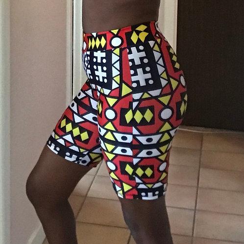 Tamaduni Biker Shorts