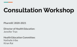 Fall Clinic Consultation Workshop