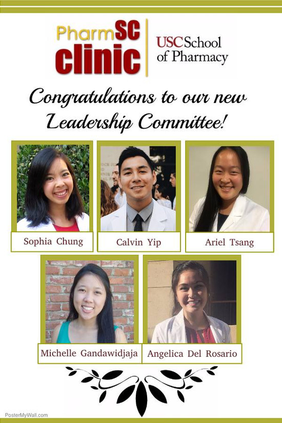 Please welcome our Leadership Committee of 2016-2017!