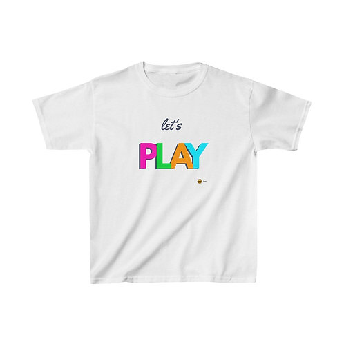 Let's Play, Kids Heavy Cotton™ Tee