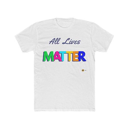 All Lives Matter, Men's Cotton Tee