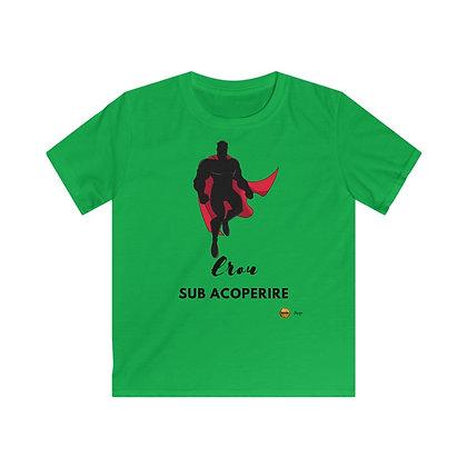 """""""Erou sub Acoperire"""" Tricou Premium Copii"""