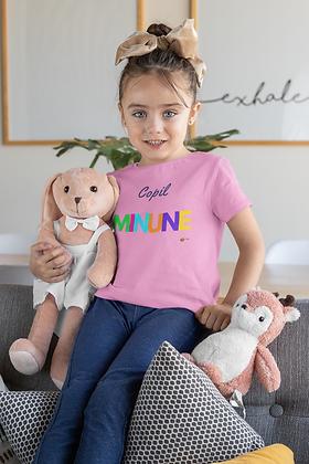 """Copil MINUNE"" Fetite si Baeti, Tricou, T-Shirt"