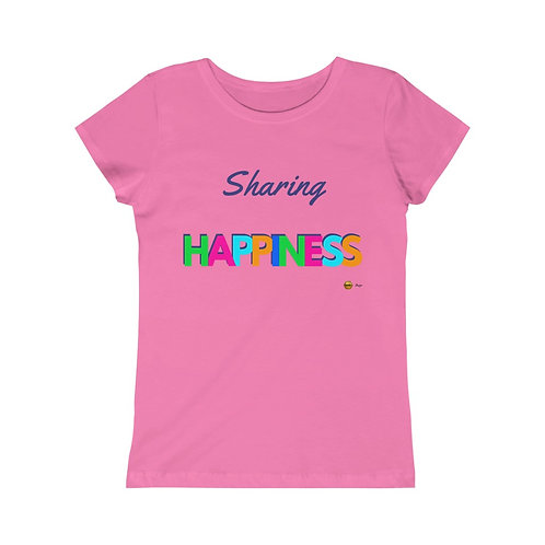 Sharing Happiness, Girls Princess Tee