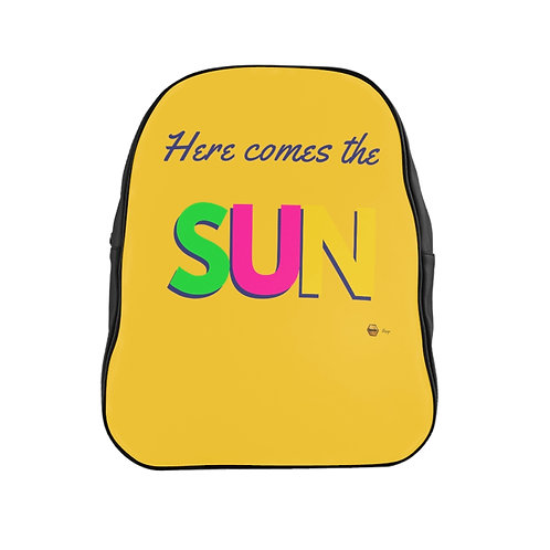 School Backpack, Here comes the SUN