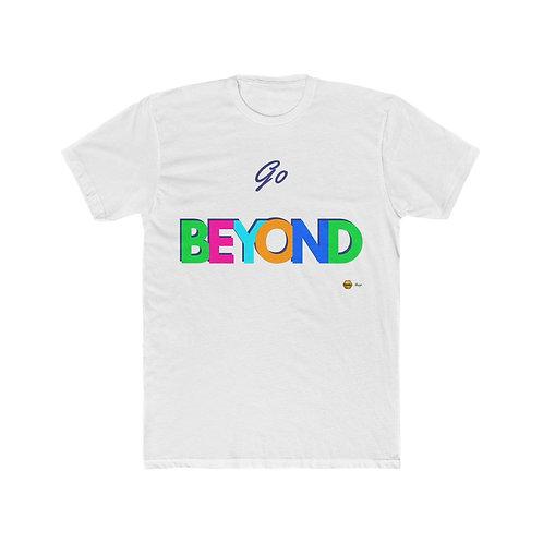 Go Beyond, Men's Cotton Tee