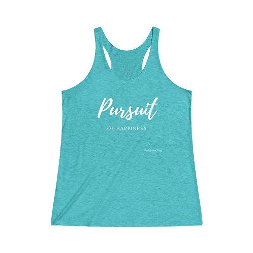 Pursuit of Happiness / Women's Tri-Blend Premium Tank
