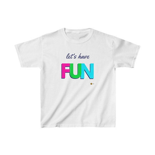 Let's have Fun, Kids Heavy Cotton™ Tee